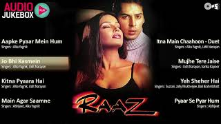 Raaz Jukebox - Full Album Songs | Bipasha Basu, Dino Morea, Nadeem Shravan MP3