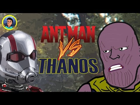 ANT-MAN VS THANOS // Parodia animada // LeMakiro