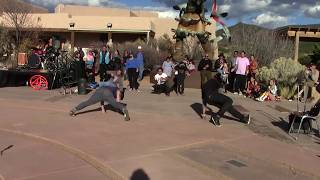 Valentino Tzigiwhaeno Rivera - Celebration Of Life | Santa Fe Break Dancers Clip 2