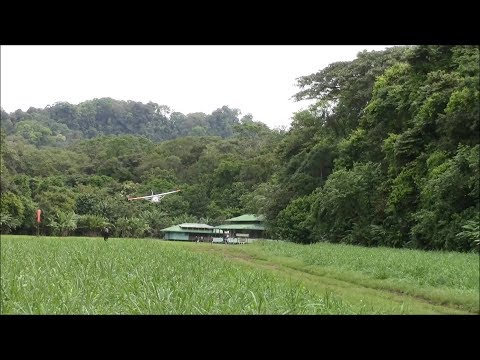 Most challenging airstrip in Costa Rica, Cessna 182