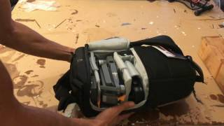 DJI Mavic Pro with LowePro slingshot edge 150 AW Case