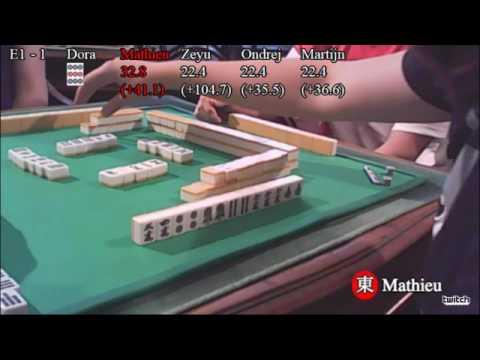 Championnat de France riichi mahjong - Marseille 2017