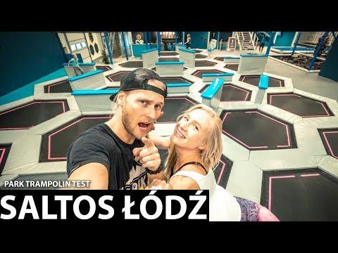 NOWY PARK TRAMPOLIN SALTOS Srebrzyńska Łódź | TEST Treneiro Vlog 124