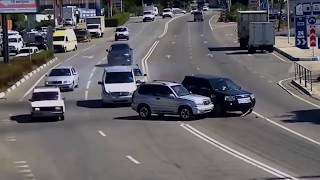 Car Accidents Compilation Recorded by Dash Camera