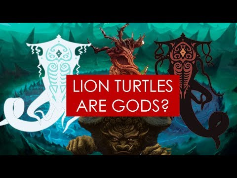 THEORY: Lion Turtles, Spirits, and Creation - Avatar The Last Airbender