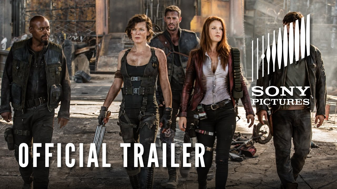 Resident Evil The Final Chapter Official Trailer Hd Youtube
