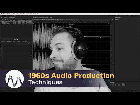 1960s Audio Production Techniques