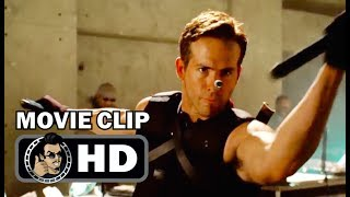 X-MEN ORIGINS: WOLVERINE Movie Clip - Wade Wilson (2009) Ryan Reynolds Superhero Movie HD