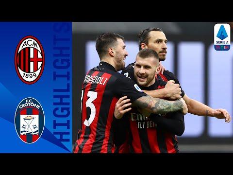 Milan 4-0 Crotone