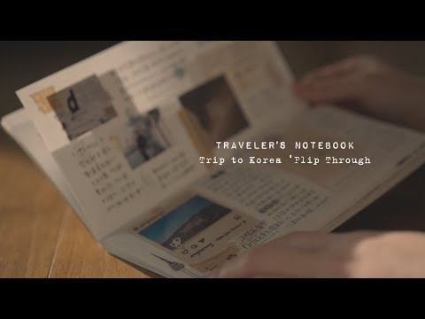 Flip Through | My Korean Travel Journal