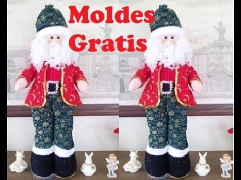Hacer Papa Noel Grande Of Como Hacer Un Papa Noel Parado Youtube