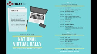 National Virtual Educational Rally - Ahmadiyya Muslim Youth Association Canada