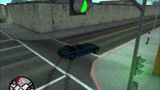GTA SA 甩尾  Dave McLoud-Street Of Fire