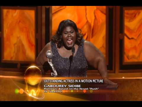 Gabourey Sidibe  41st NAACP  Awards  Outstanding Actress in a Motion Picture