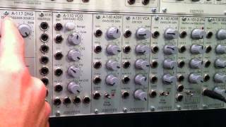 Doepfer A117 DNG Basics and Percussion