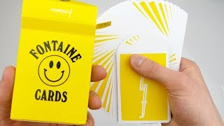 FONTAINE CARD TRICKS | TheRussianGenius thumbnail