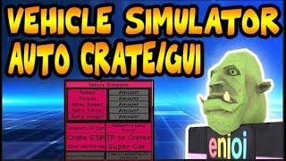 Roblox: Vehicle Simulator INFINITE CRATES/GUI