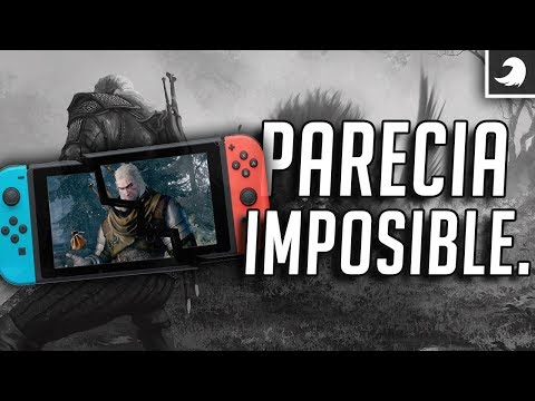 ¿¡Como es posible The Witcher 3 en Nintendo Switch!?  Tocby