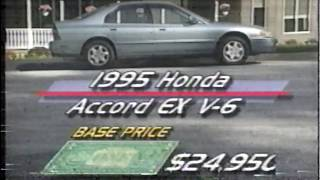 1995 Accord V6 Review/1995 NSX-T Road Test MW