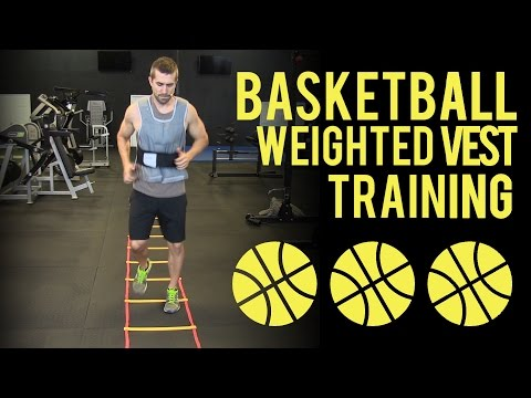 Weighted Vest Workouts for Basketball (Exercises to Jump Higher)