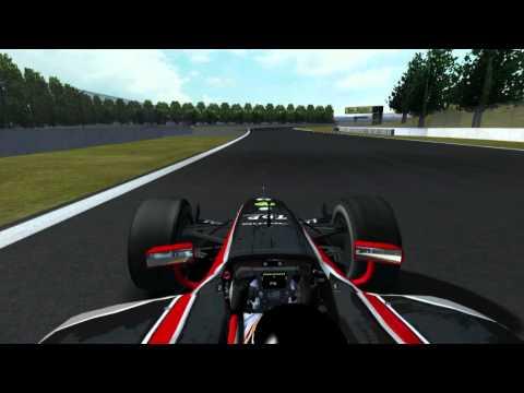 rFactor - GP2 2008 Series @ Korea - Xbox 360 Controller