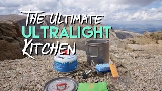 The Ultimate Ultralight Kitchen