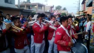 banda la reyna de huajuapan en santa maria aztahuacan charros los autenticos 2014