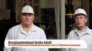 Bergbaudenkmal Grube Adolf Fördermaschine