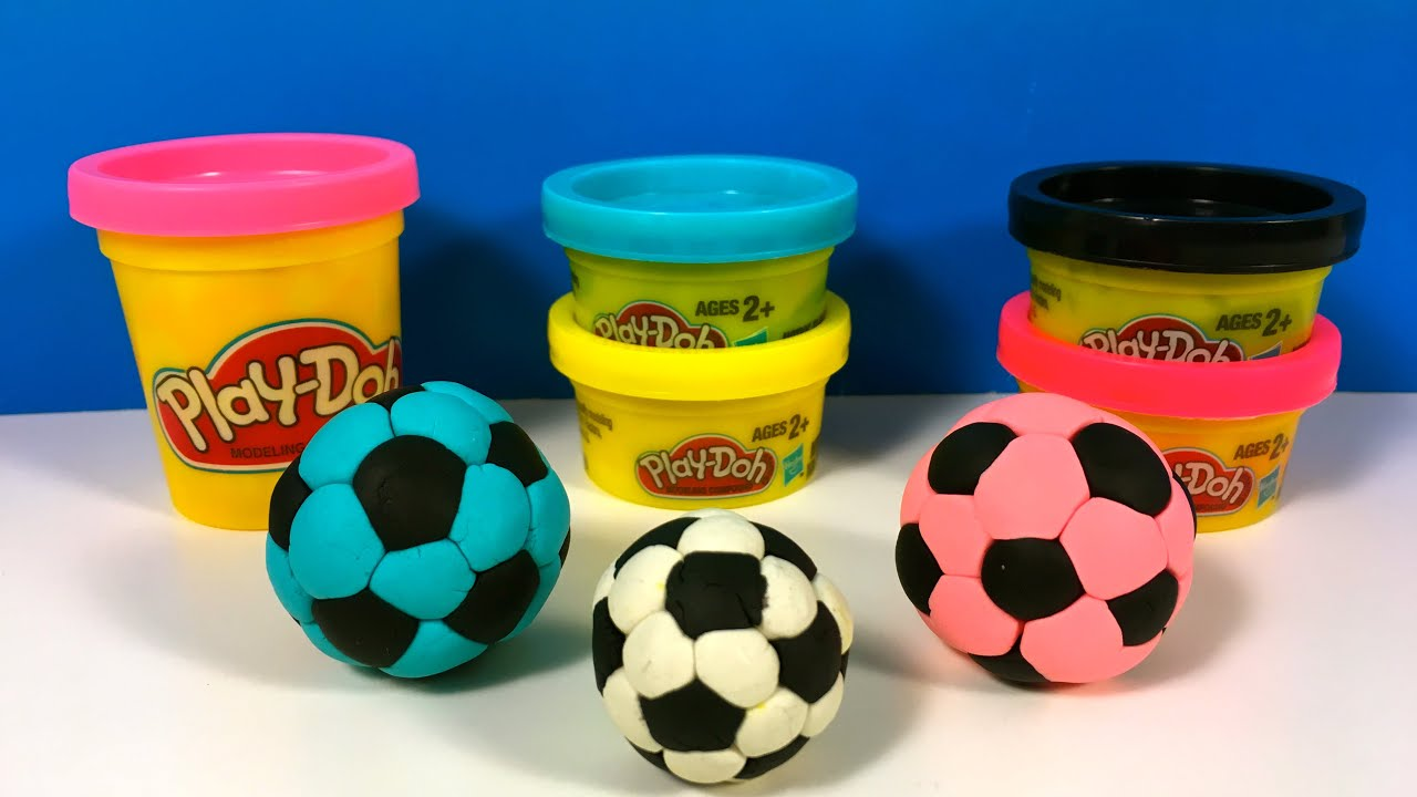 Play Doh Soccer Ball Football