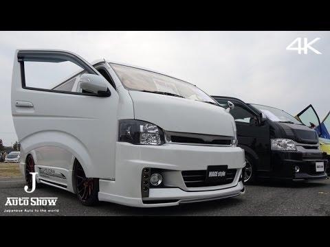 (4K)50 custom TOYOTA HIACE ハイエース・カスタム  - スーパーカーニバル2015