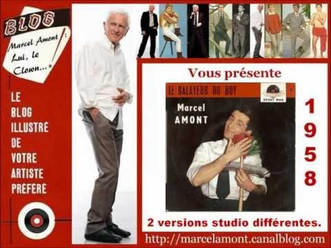 Marcel Amont  Le balayeur du Roy  2 versions studio  1958