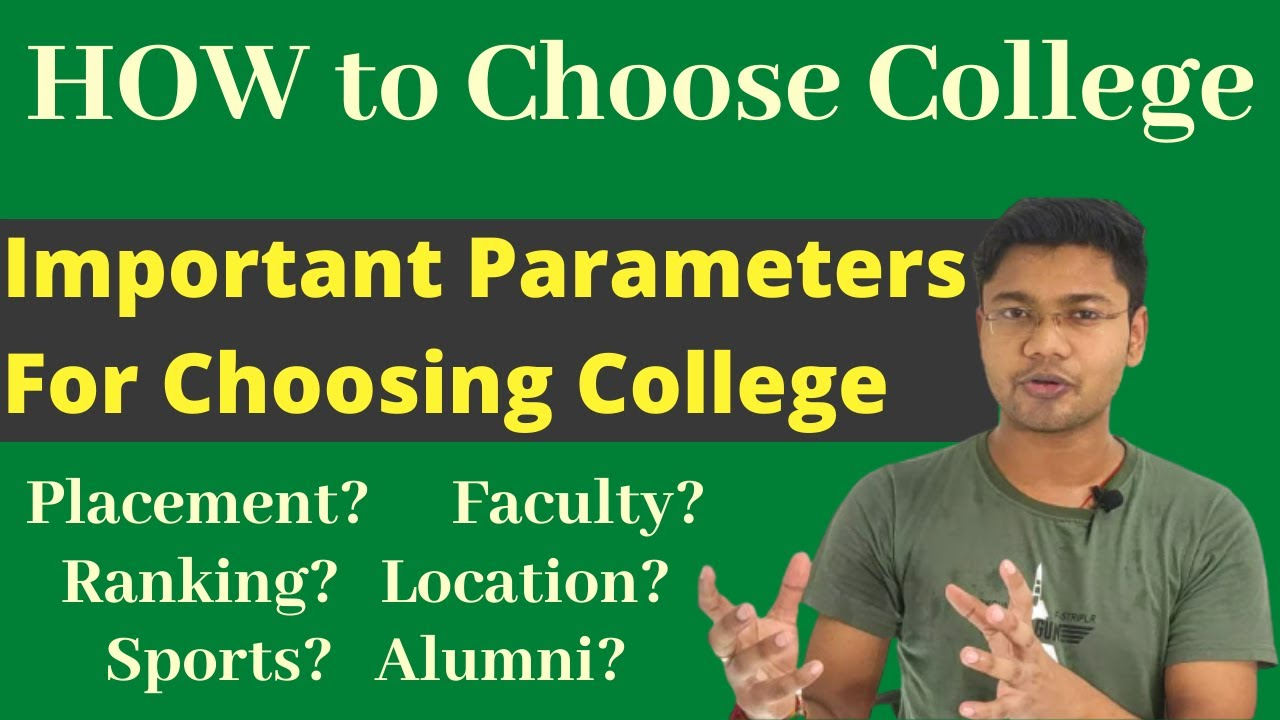 How To Select An Engineering College - Most Important Factors [Must Watch]