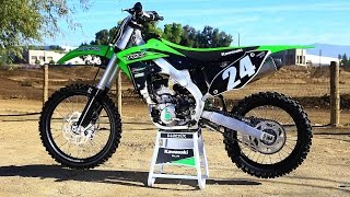 First Ride 2016 Kawasaki KX 250F - Motocross Action Magazine