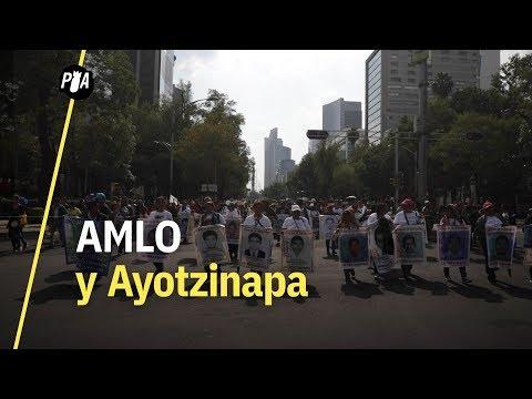 ¿Se resolverá el caso Ayotzinapa con AMLO? Manifestantes responden en marcha por los 43 normalistas