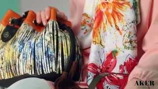Aker Eşarp Giyim Çanta 2014 İlkbahar Yaz Koleksiyonu
