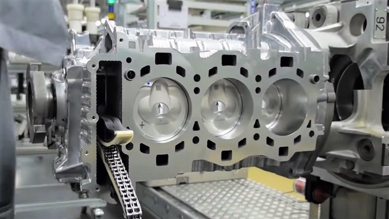 porsche 911 engine production [ 1280 x 720 Pixel ]