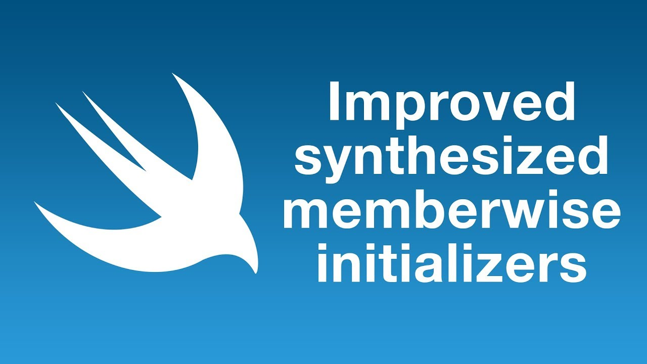 Improved synthesized memberwise initializers in Swift 5.1