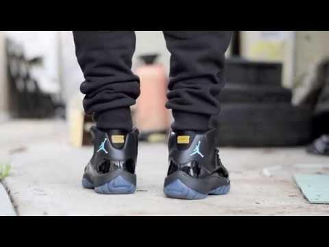 53674f28403b ... free shipping air jordan 11 gamma blue xi sneaker detailed review legit  check w djdelz dj