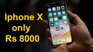 Iphone X clone | Price Rs 8000 | India Best Clone ever | Cheapest Iphone X in India
