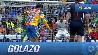 Golazo de André Gomes (3-2) Real Madrid - Valencia CF