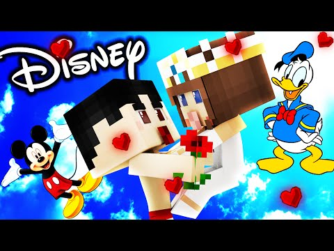 Minecraft - WHO'S YOUR MOMMY? - BABY DISNEY PRINCESS!