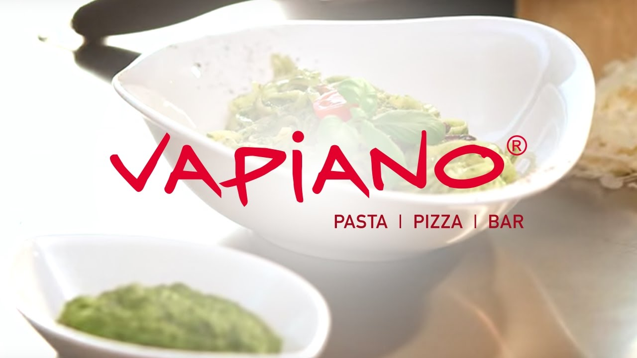 Unser hausgemachtes Pesto - 24H bei VAPIANO 10:30 AM / 10:30 H - YouTube