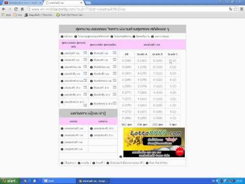 สูตรหวย ดอทคอม ใครๆก็วิเคราะห์+คำนวณหวยได้ สูตรหวยแม่นๆพร้อมสถิติย้อนหลัง