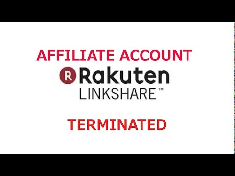 Rakuten Linkshare - Affiliate account terminated - Problem Unsolved