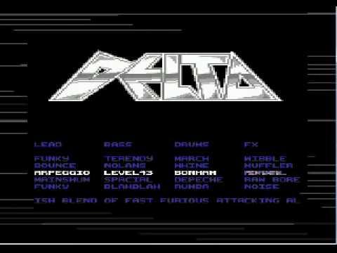 C64 DELTA LOADER & INTRO MUSIC