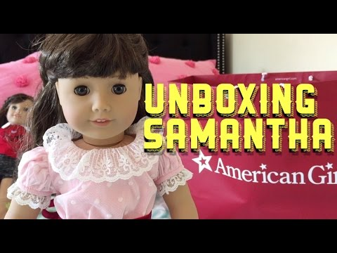 Opening American Girl Doll Samantha and Large AG Haul