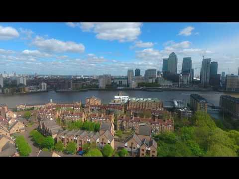 Canada Water Drone Footage - London/UK