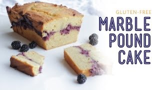 Marble Pound Cake Recipe - The Hot Plate