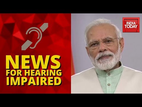 News For Hearing Impaired With India Today | Top Headlines Of The Day | April 3, 2020