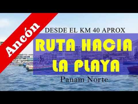 COMO LLEGAR A LA PLAYA/01 Enero 2019 playa de Ancón-Lima Perú